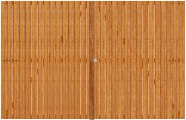 PORTAO IPE DECK 1,00 x 1,00